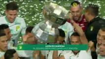 ¡León llega hasta las lágrimas! Así levantó el trofeo de la Leagues Cup