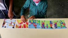 Niños en Colombia aprenden a identificar minas antipersona que siguen enterradas tras el conflicto