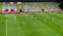 ¡GOL!  anota para Croacia. Ivan Perisic