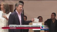 Santos es reelegido por Colombia
