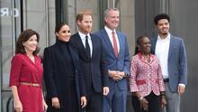 El príncipe Harry y Meghan Markle están en NYC: su primera parada fue el Observatorio One World