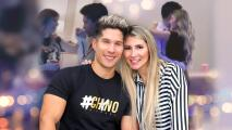 Chyno Miranda y su esposa se dejan ver muy cariñosos bailando tras rumores de separación