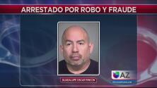 Ex empleado del departamento de agua de Phoenix es acusado de robo millonario