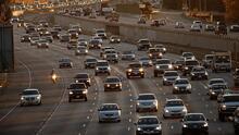 Poca congestión vehicular y condiciones nubladas, lo que pueden esperar algunos conductores en Los Ángeles esta mañana