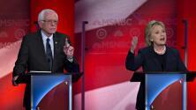 El tono de los candidatos demócratas cambia