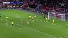 ¡El cuarto del Ajax! Haller corona la goleada sobre el Dortmund