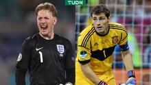 Pickford va por marca de Iker Casillas en la Euro