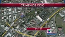 Investigan crimen de odio en Davis