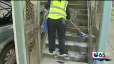 Proyecto de limpieza masiva en Filadelfia