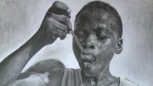 Conoce al sorprendente artista nigeriano de solo once años detrás de este retrato