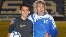 Hijo del Mágico González sigue los pasos de su padre