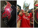 Sin Cara confeccionó máscara en honor al Benfica de Raúl Jiménez