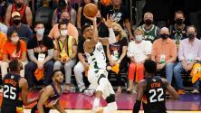 Bucks toman ventaja ante Suns con un gigantesco Giannis