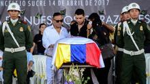 Colombia dio el último adiós a Martín Elías, hijo de Diomedes Díaz
