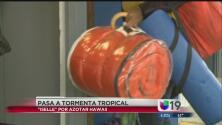 Iselle baja de huracán a tormenta tropical