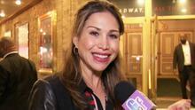 Bianca Marroquín es homenajeda por su trayectoria de 20 años en el musical 'Chicago'
