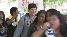 Estudiantes hacen oír su voz frente al Capitolio