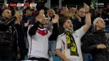 ¡GOL!  anota para Alemania. Serge Gnabry