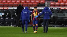 Coutinho será operado de la rodilla izquierda y es baja con el Barcelona