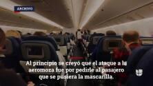 "Ataque a azafata de American Airlines ""uno de los peores"" en la historia de American Airlines"
