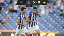 ¡Goleada de los Dragones! Tecatito y Porto vencen al Moreirense