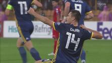Gojak solo tiene que puntearla para empatar 2-2 ante Armenia