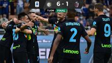 El Inter golea al Bolonia; Johan Vásquez aún no  debuta con Genoa