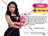 No hay evidencias de que las vacunas contra el covid-19 causen disfunción eréctil como tuiteó la rapera Nicki Minaj