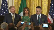 La defensa de los inmigrantes indocumentados del primer ministro irlandés frente a Trump