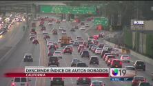 Desciende índice de robo de autos en CA