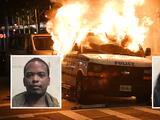 Abogados se declaran culpables de prender fuego a un vehículo del NYPD
