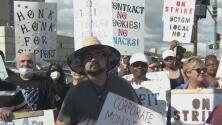 Continúa la huelga de un grupo de trabajadores latinos en Chicago contra la empresa Nabisco