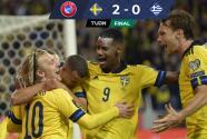 Resumen | Suecia desbanca a España y pone un pie en Qatar 2022