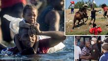 Entre 'la migra' y la miseria: Miles de haitianos en la frontera agravan la crisis migratoria