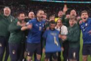 ¡Para Spinazzola! Italia explota en júbilo tras llegar a la Final