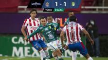 A Chivas no le alcanza para remontar a León en la ida de Semifinales