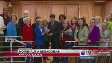 Homenaje a Senadoras Estatales