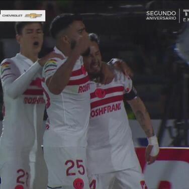 ¡La segunda fue la buena! Toluca marca el 1-2 por la vía del penal