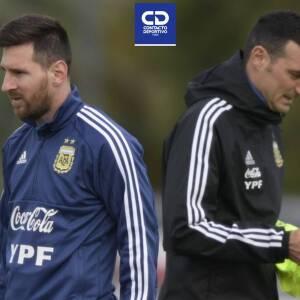 Scaloni cuenta con Messi para juegos ante Venezuela, Brasil y Bolivia