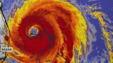 Dorian continúa moviéndose a un ritmo muy lento, mientras Bahamas sigue bajo sus devastadores efectos