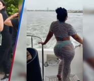 """No se metan con mi Cucu"", Chiquis Rivera en bikini da clases de como menear la cadera."