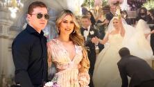 En video: la boda religiosa al estilo 'rock star' de Saúl 'Canelo' Álvarez