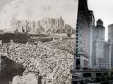 Se cumplen 150 años del Gran Incendio de Chicago que dejó 300 muertos y una ciudad reducida a cenizas