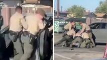 En video quedó grabado un nuevo caso de presunto abuso policial contra un hispano en Los Ángeles