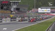 Se encendieron los motores y así fue la arrancada en el GP de Austria