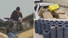 Encuentran 100,000 dólares en mercancía robada en un campamento de indigentes en Pomona