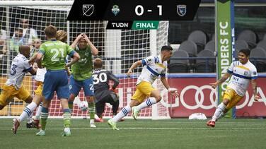 Los Quakes de Almeyda dan la campanada en Seattle con gol de Espinoza