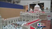 Crea réplica del Vaticano con piezas de Lego