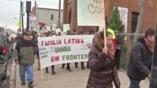 'Chicago en un Minuto': organizaciones comunitarias abogan por los derechos de los inmigrantes en marcha del 1 de mayo
