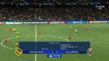 Y fue goleada... Chukwueze selló el 1-4 del Villarreal a Young Boys